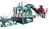 供应山东水泥空心砖机液压免烧砖机建丰液压砌块砖机