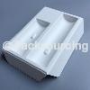 OEM白色湿压甘蔗渣智能电子产品纸托包装
